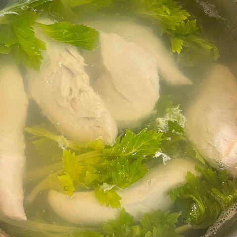 セロリのスープ2